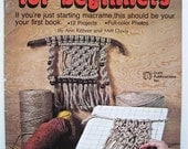 Macrame Instruction Book for Beginners - DIY Macrame Projects - Macrame Pattern book