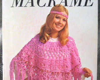 Macrame Instruction Book - Beginners Macrame