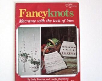 Macrame Purse Patterns - Fancy Knots Macrame Pattern Book