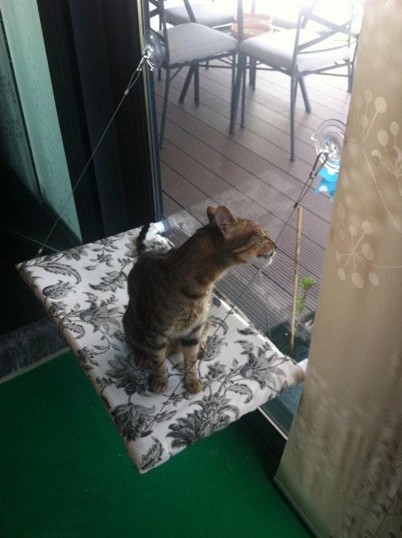 curious cats window perch. Black Bedroom Furniture Sets. Home Design Ideas