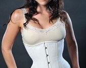 Meschantes CUSTOM Nude Training Corset for daily wear Made to