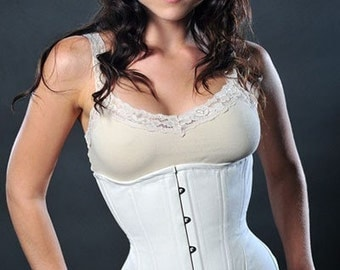 Meschantes CUSTOM Nude Training Corset for Daily Wear Plus Size Made to Measure