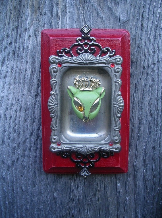 Wiccan Victorian Gothic Wall Decor A Familiar's Dream by AJandB