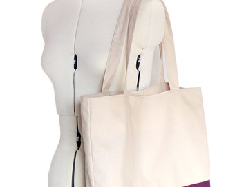 PDF Sewing pattern - Color block tote bag