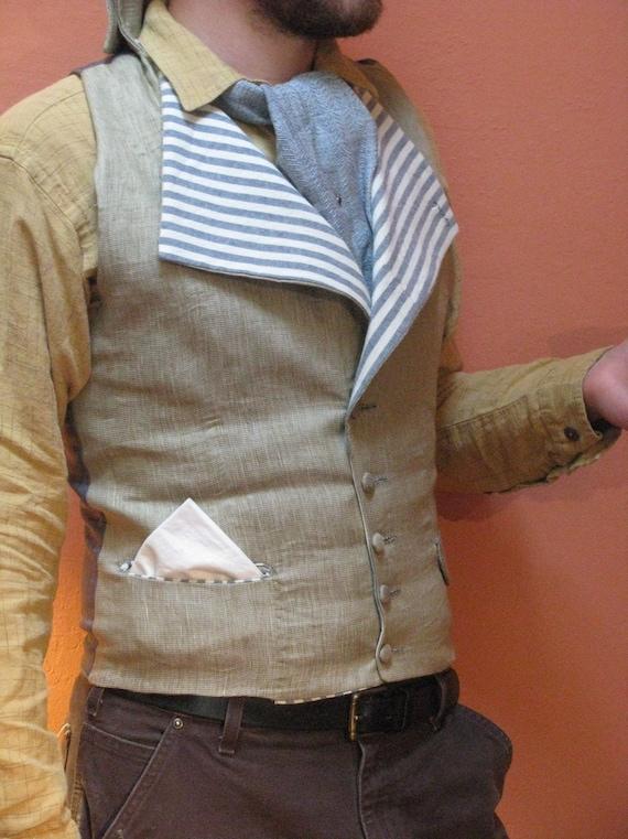 M. Wilberforce's Regency Waistcoat--custom fit