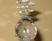 Crystal Ball - 30mm with 5 Octagon Crystals