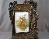 Art Nouveau Iron Frame