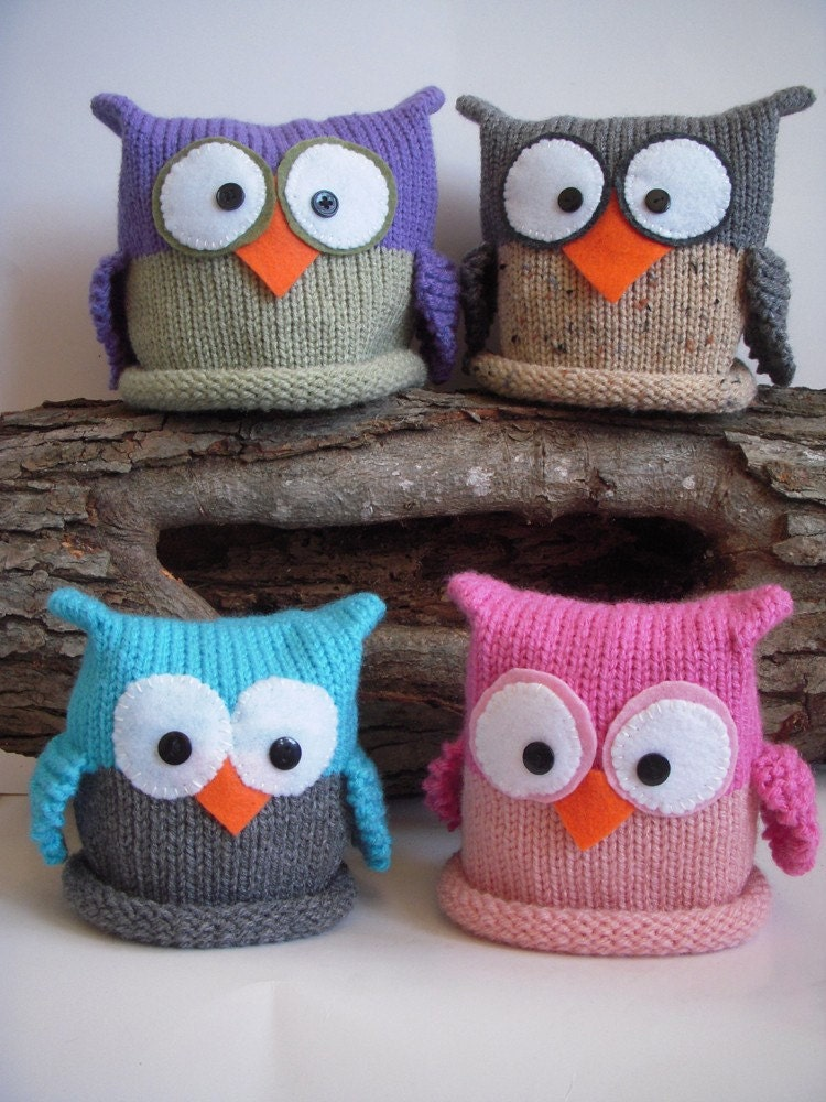 Alfa img - Showing > Owl Hat Knitting Pattern