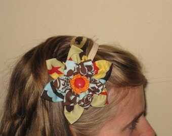 Cloth Flower Headband