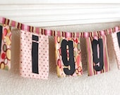 Giggle banner decoration: Made to Order