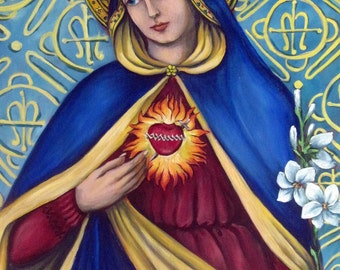 Immaculate Heart, limited edition giclee