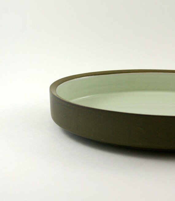 Denby Chevron Camelot Serving Bowl Designed by Gill Pemberton - Oval