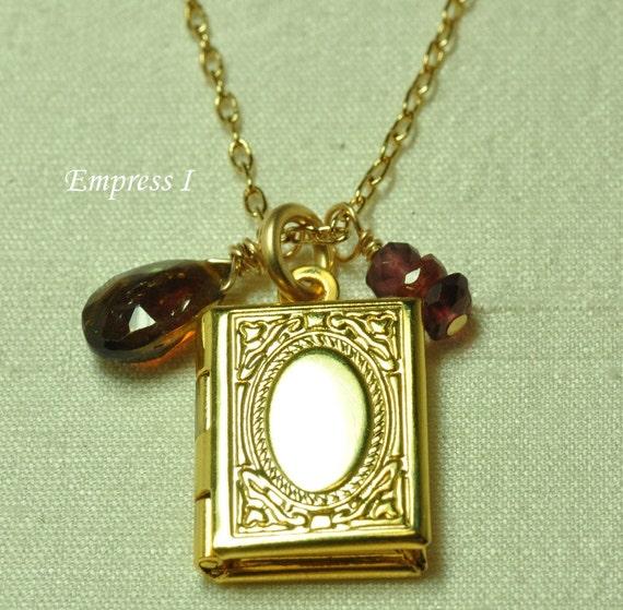 Little Golden Locket Necklace