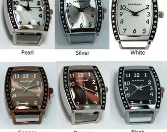 Bali Oval Dot Solid Bar Watch Faces for Interchangeable Watch Bands