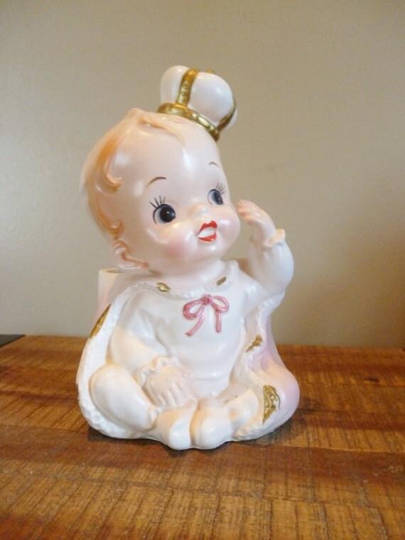Vintage Relpo Royal Baby Planter