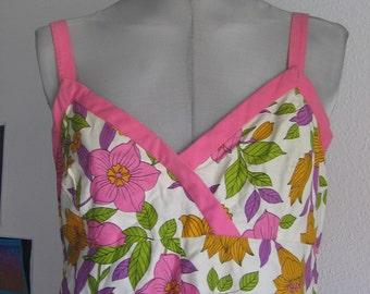 SALE 60s /70s Vintage sundress MInt S M