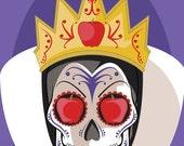 Evil Queen Sugar Skull Print 11x14 print