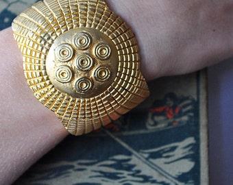 Large Vintage Cuff Bracelet