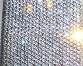 Small 12ss Clear Crystal Diamond Rhinestone BLING Back Case for Apple iPhone 4 4G 4S handmade using 100% Swarovski Elements