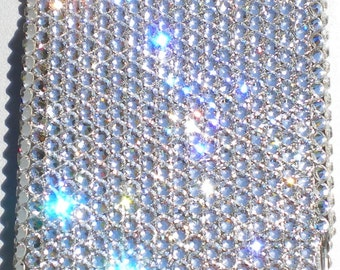 Clear Crystal Diamond Rhinestone BLING Back Case for Motorola Droid X or X2 handmade using 100% Swarovski Elements