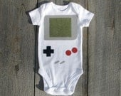Handheld Video Game Baby Clothes - TheWishingElephant