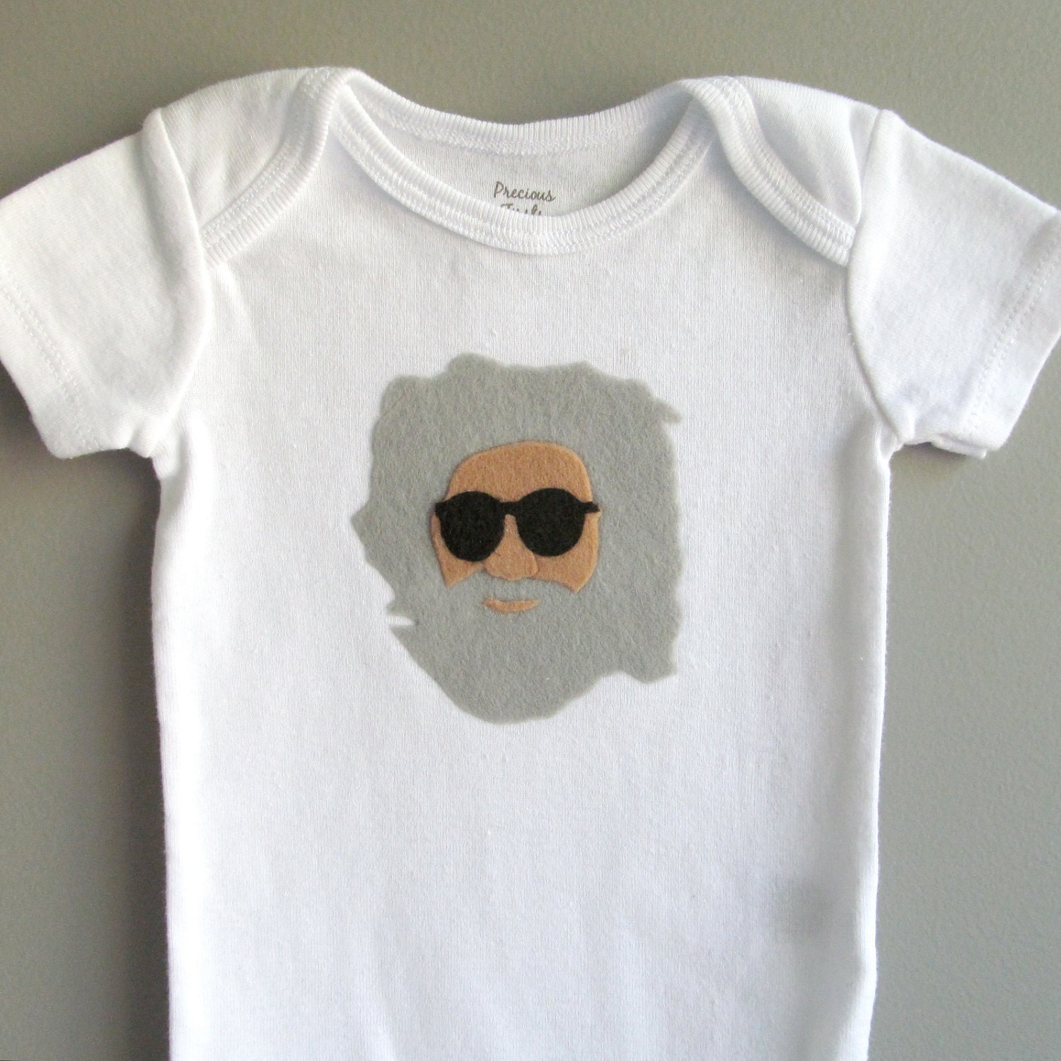 The Dead Jerry Garcia Bodysuit Funny Baby Shower Gift