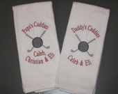 Personalized Golf Towel for Grandpa or Dad