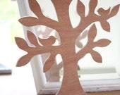 Wooden tree 30cm high - jewelry display holder -- Sieradenboom, juwelenboompje