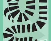 """Sandworm - Beetlejuice 12x18"""" Poster"""