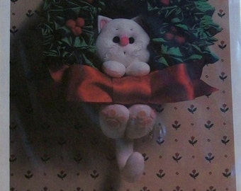 Vintage Kitty Wreath Pattern