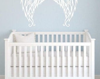 Angel Wings Vinyl Wall Decal