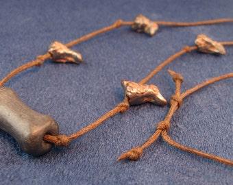 Clay Birds Adjustable Necklace N156