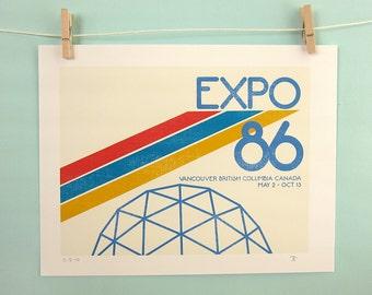 Expo 86 Print