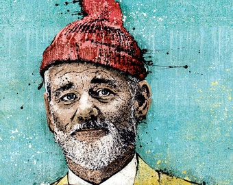 """Steve Zissou's """"This Is the Life"""" - 18x24 Archival Print"""