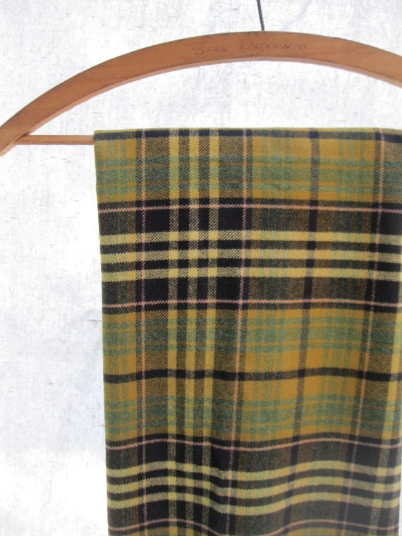 Vintage Flannel Cotton// Khaki// Olive//Tan// Brown from Tessiemay