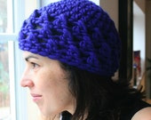 PDF PATTERN- Teens and adult crochet cap - Welcome to sell your work from this pattern