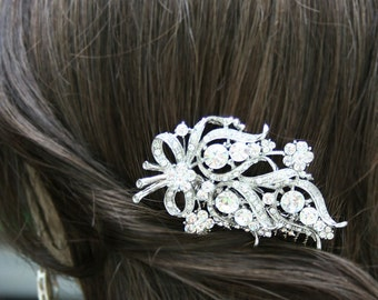 Wedding hair comb, Swarovski crystal hair comb,Bridal Hair Comb, Wedding Hair comb, Crystal comb, rhinestone comb,Crystal hair comb,