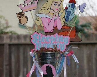Disney's Sleeping Beauty Princess Aurora party centerpiece