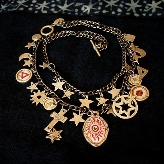 Fires of Heaven - Red Sun Necklace