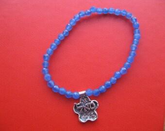 Kabbalah Bracelet, Beaded Bracelet, Kabbalah Jewelry, Hebrew Letters Charm Bracelet, Kabbala Prosperity Bracelet, Meditation Jewelry