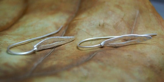 Tranquility Earrings: Sterling Silver