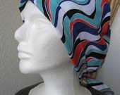 Caribbean Sunwash - Tie-back Surgical Scrub Hat