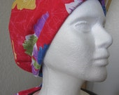 Island Red - Tie-back Surgical Scrub Hat