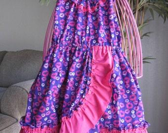 SALE!!  Hot Lips - Toddler Girls Dress
