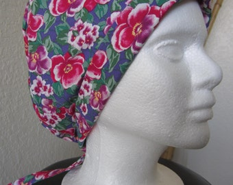 Godetia - Tie-back Surgical Scrub Hat