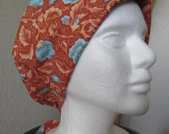 Pompei - Tie-back Surgical Scrub Hat