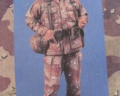Model Soldier General Norman Schwarzkopf Army Operation Desert Storm soldier model kit  Super Scale 120mm scale resin kit Iraq War Military