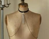 Crystal Necktie Body Chain