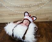 Crochet Pattern, Fox Hat