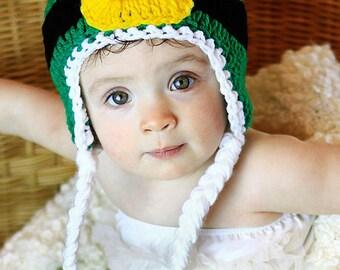 Crochet Pattern, Leprechaun Hat - Instant Download